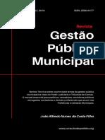 Revista Gestão Pública Municipal - fev 2019
