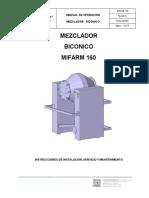 Mezclador Biconico Mifarm 160