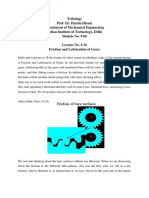 Friction and Lubrication of Gears