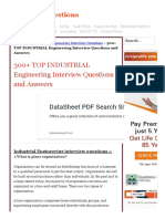 300+ TOP INDUSTRIAL Engineering Interview Questions and Answers.pdf