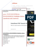 300+ TOP INDUSTRIAL ENGINEERING Objective Questions and Answers.pdf