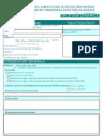 Cerere Finantare - corespondent sM 4.3 agricol.doc