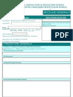 Cerere Finantare - corespondent sM 9.1a