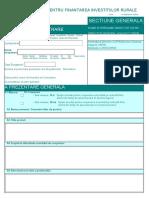 Cerere Finantare - corespondent sM16.4 și 16.4a