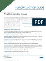 Privatization-Municipal Action Guide
