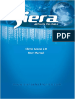 CleverAccess 2.0 User Manual ( English Version 0817)
