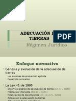 Present-Adecuación juridica