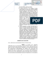 CASACION CORTE SUPREMA - PRISION PREVENTIVA- ASOCIACION ILICITA