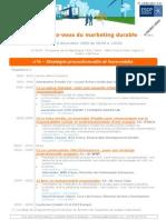 RDV Marketing Durable 8 Decembre 2009