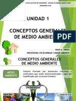 CONCEPTOS GENERALES MEDIO AMBIENTE