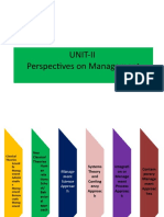 UNIT-2-PERSPECTIVES ON MANAGEMENT