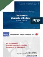 Cas clinique Sténoses des voies biliaires_vienne-ariane 2014