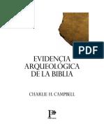 ARQUEOLOGIA EVIDENCIAS