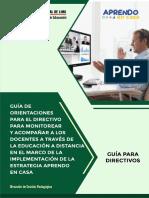 GUIA DE ORIENTACIONES PARA EL DIRECTIVO 03.05.20