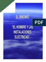 presentacion El binomio el Hombre y las instalaciones eléctricas RE