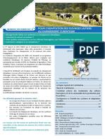 Résultats de l'étude CLIMALAIT pour le Confolentais (16)