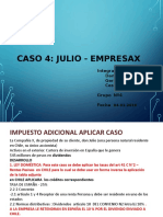 GRUPO 4 DON JULIO RESIDENTE CHILE-INGRESOS EXTRANJERO