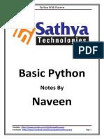 Basic Python