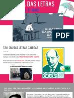 Semana Das Letras Carvalho 11-17 Maio