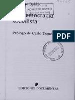 bobio democracia socialista