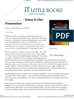 The Blood of Jesus is Our Possession - Ernest Angley (1995)