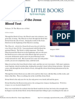 The Results of the Jesus Blood Test - Ernest Angley (1995)