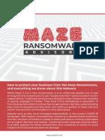 Maze_Ransomware_Advisor