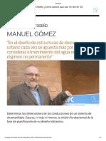8. PyD - Estructuras de Drenaje - Regimen no Permanente