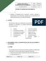 """Evidencia AA5-4 Informe norma """"cero"""""""