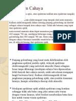 Spectrum Cahaya