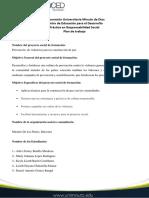PLAN DE TRABAJO PRESUPUESTO 1 DE RESPONSABILIDAD
