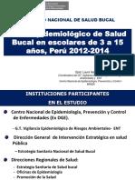 DX EPIDEMIOLOGICO SALUD BUCAL PERU