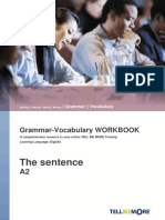 A2_The sentence_workbook