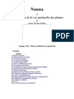 Nanna Ou À Propos de La Vie Spirituelle Des Plantes-français-Gustav Theodor Fechner