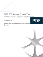 NBS_001-Architecture sample specification-2019-03-29