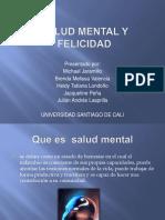 Salud mental y felicidad