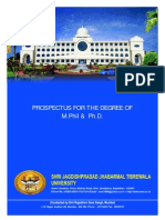 College of Phd Prospectus a4 Size