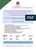 ONCD Recommandations COVID 19 v1 24 mars 2020