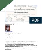 Se certifier PMP en toute simplicité
