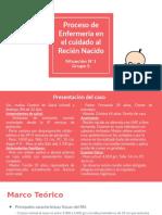 PROCESO DE ENFERMERIA EN EL CUIDADO AL RECIÉN NACIDO