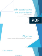 ppt DESCRIPCION CUANTITATIVA DEL MOVIMIENTO_fisica_II°medio