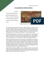Aztecas noticia periodistica