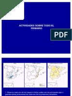 Actividades sobre el sector primario en España