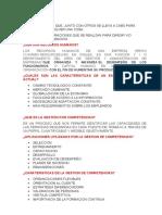 CUESTIONARIO GESTION DE PERSONAS
