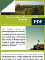 Relaciones Entre Turismo y Medio Ambiente