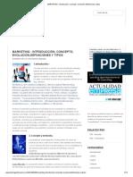 MARKETING _ introducción, concepto, evolución,definiciones y tipos