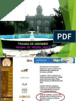 CLASE 8 TRAUMA VISCERA HUECA 2020