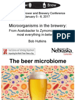 Microorganisms in the brewery from Acetobacter to Zymomonas and most everything in between