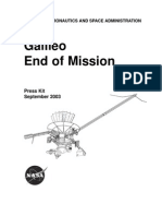 Galileo End of Mission Press Kit