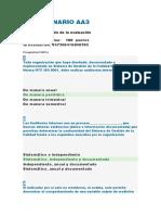 CUESTIONARIO AA3